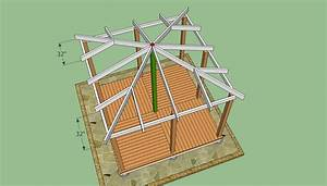 Wooden Gazebo Plans HowToSpecialist - How to Build, Step