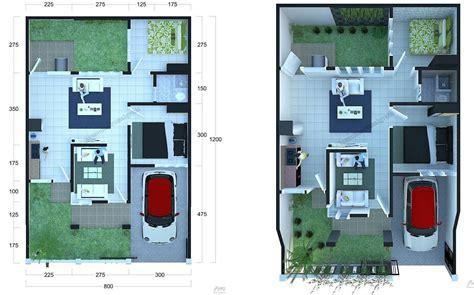 gambar rumah sederhana lengkap denah gambar rumah