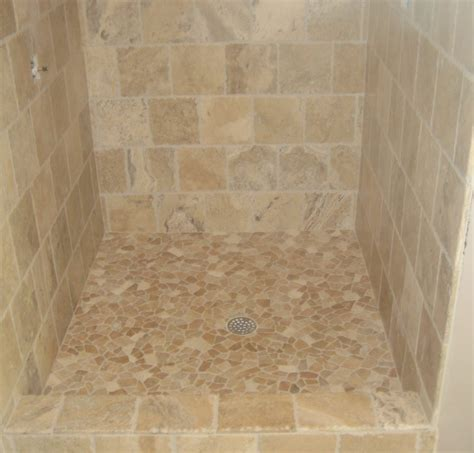 shower floor pan img5610jpg tiling preexisting cement