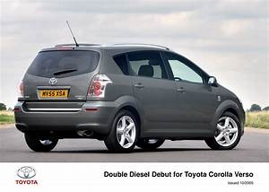 Toyota Verso Dimensions : double diesel debut for toyota corolla verso toyota uk media site ~ Medecine-chirurgie-esthetiques.com Avis de Voitures
