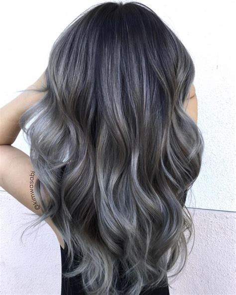 Charcoal Hair The New Low Key Trend On Instagram Hairdo