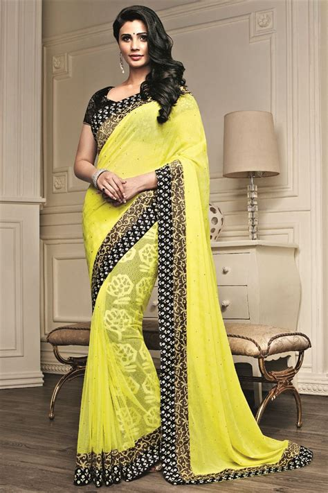 Fashion Sarees Inspired Sarees A New Fashion Statement For