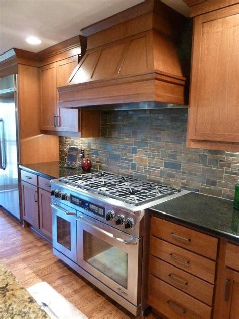 kitchens  stone backsplash designs wood kitchen