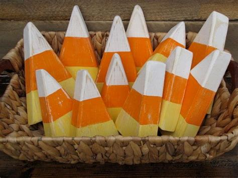 cute candy corn pieces great fall decor set