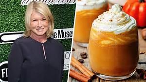 Martha Stewart shares true feelings about pumpkin spice ...