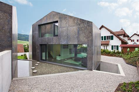 Die Besten Einfamilienhäuser by Parallelogramm Aus Beton Moderne Einfamilienh 228 User Aus Beton