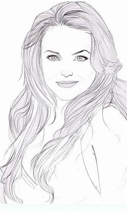 Lohan Lindsay Coloring Pages Famous Colouring Adult