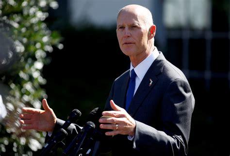Florida Republican Governor Scott launches Senate run ...