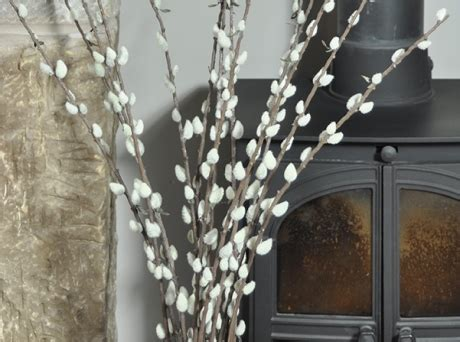 Natural Pussy Willow  Decorative Branches. Decorative Nuts. Decorative Porcelain Bowls. Decorative Lantern. Vintage Inspired Home Decor. Decorative Bricks. Hand Mirror Wall Decor. Room Divider Furniture. Room Divider Curtain
