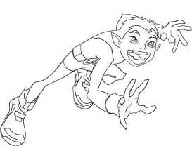 teen titans beast boy coloring pages on teenage boy coloring pages - Coloring Pages Teenagers Boys