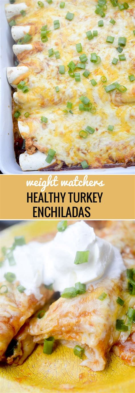 healthy baked turkey enchiladas recipe recipe diaries