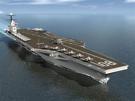 Newport News Awarded $25m For Cvn80 Advance Fabrication