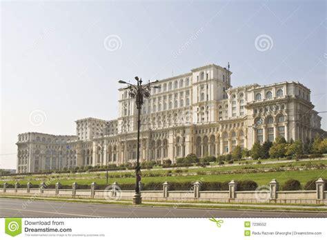 chambre du parlement le parlement maison bucarest roumanie photographie stock