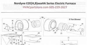 Wiring Diagram Database  Nordyne Electric Furnace Wiring