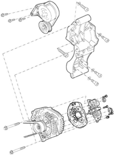 vw jetta 2003 jetta 1 9 alternator removal