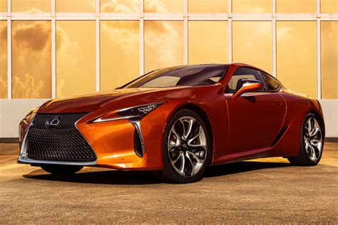 2021 Lexus LC 500 Coupe Gets New Eye-Catching Color   CarBuzz