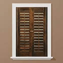 wooden shutters interior home depot plantation shutters interior shutters at the home depot