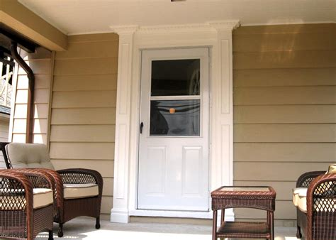 weekend projects frame   entry  porch