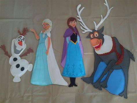 frozen figuras en foami para decorar bs 5 000 00 en mercado libre