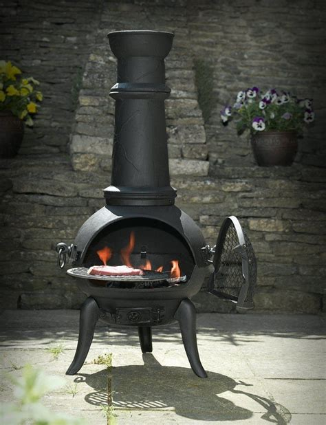 what is a chiminea used for black cast iron steel mix 105cm chimenea chiminea with