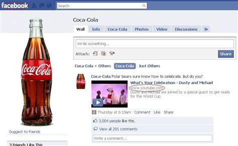 coca cola siege social social media marketing spd4290 social media marketing