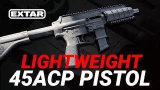Extar EP45 Lightweight Pistol Review - AR15.COM