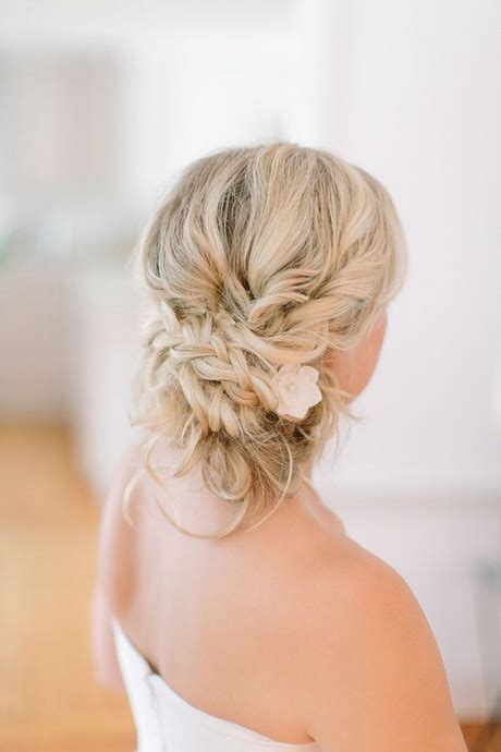 wedding hair styles  medium length hair