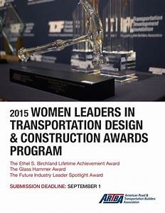 2015 Women Leaders in Transportation Design & Construction ...