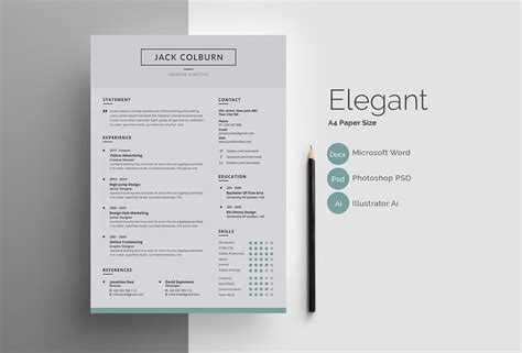 Professional Resume Templates (15 To Download And Use