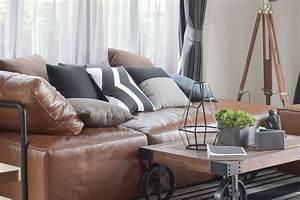 Canapé Style Industriel : comment realiser une decoration au style industriel le mag visiondeco ~ Teatrodelosmanantiales.com Idées de Décoration