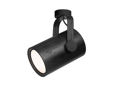 Zero Wood Ceiling Spotlight   Eames Lighting