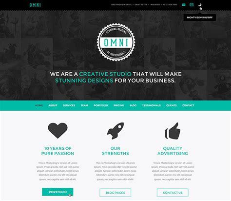 60 best single page website templates bashooka