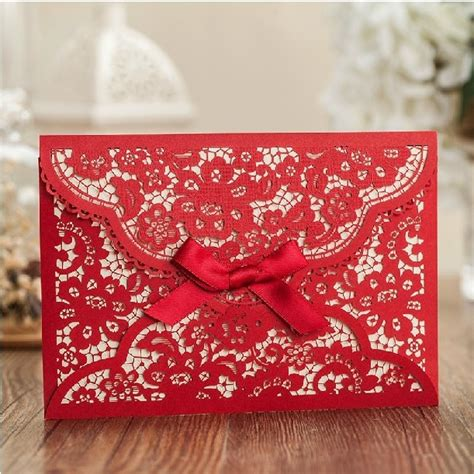 Aliexpress com : Buy Lace Wedding Invitations Cards free