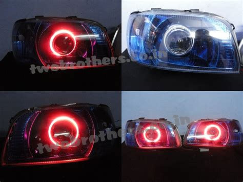 Beat Modified Lights by Alto Projector Headlights With Blue Smoked Headls