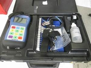 Olympus Panametrics Model 35 Hand Held Ultrasonic Portable Thickness Gage Gauge