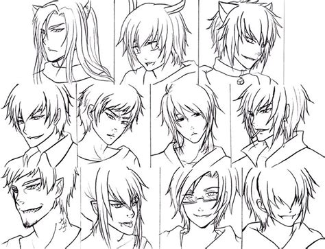 image  anime boy hairstyles top hairstyles