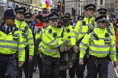 Rebellion Extinction Police Latest Standard Arrests Tear