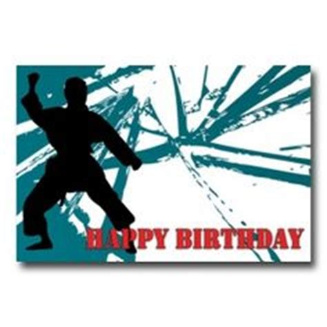 karate birthday card template you re a hoot happy birthday cards for animal