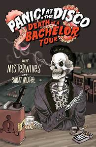 Panic At The Disco Announce Death Of A Bachelor Tour