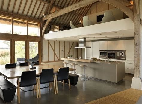 Converted Barn Sited Open Countryside by Commission Eco Barn Conversion In Vale Of The