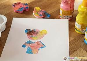 Eponge Pour Peindre : peinture l 39 ponge avec des tampons homemade ~ Preciouscoupons.com Idées de Décoration