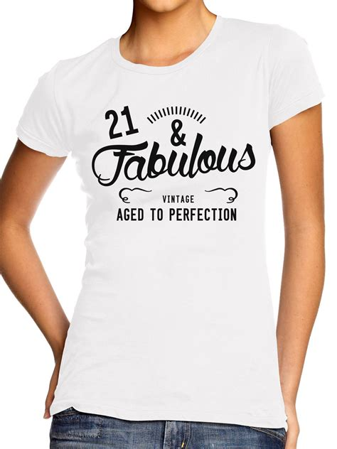 And Fabulous T Shirt St Birthday Present Ideal