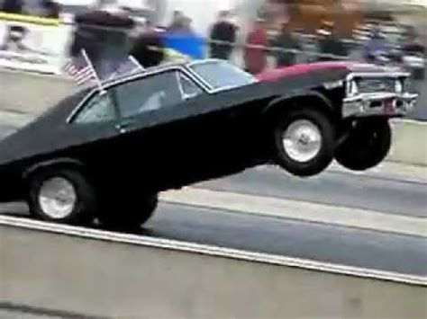 muscle car wheelie  world power wheelstanding