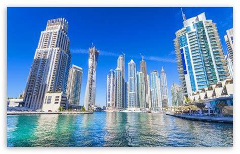 Dubai, United Arab Emirates, Skyscrapers 4k Hd Desktop