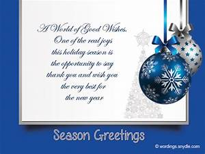 Christmas messages for business wordings and messages for Business christmas greeting cards