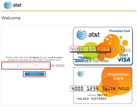 how to activate at t phone how to apply a 200 promotional card to your at t monthly bill