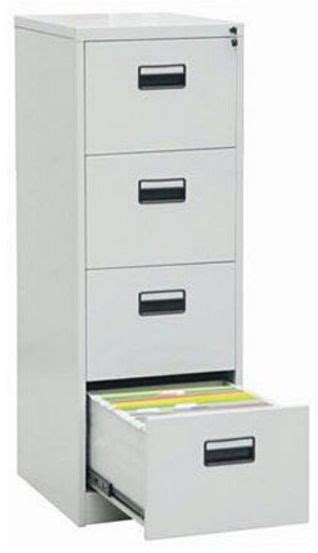 4 Drawer Vertical File Cabinet by 4 Drawer Vertical Filing Cabinet Grey 133 X 62 X 45