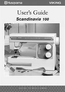 Husqvarna Viking Scandinavia 100 User Owners Manual