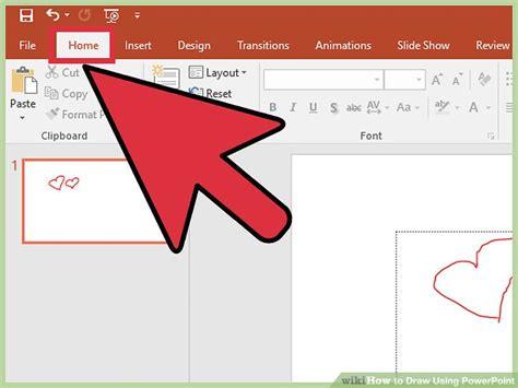 3 Ways To Draw Using Powerpoint Wikihow