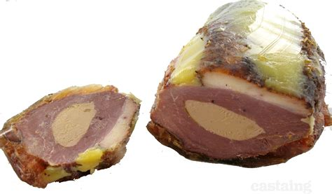 canapé au foie gras castaing gt magret de canard rôti farci au bloc de foie